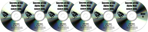 Secrets of the Alpha Man CDs - carlos xuma's tips